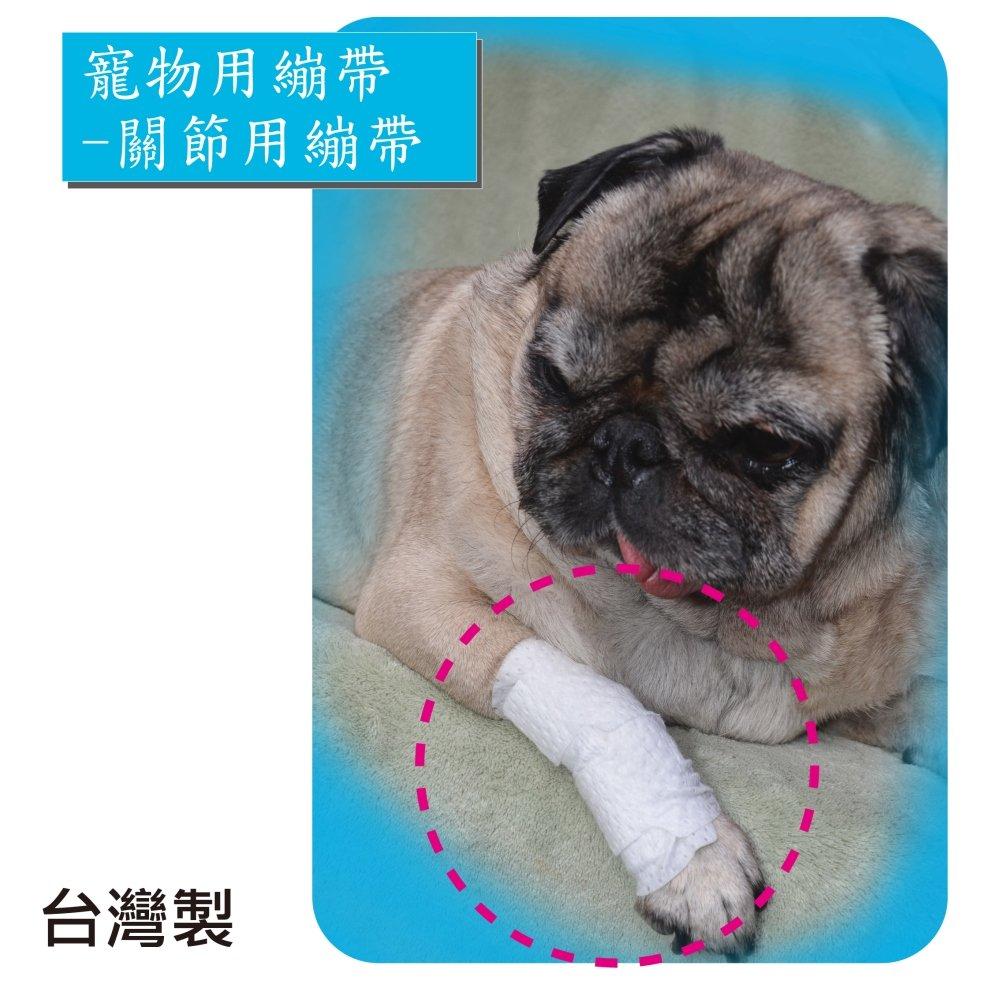 【感恩使者】寵物受傷用繃帶 -關節用繃帶 尺寸M、L 大中小型寵物 簡單急救包紮 台灣製