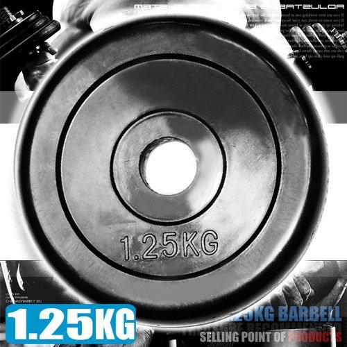 1.25KG包膠槓片(單片1.25公斤槓鈴片啞鈴片.重力舉重量訓練)