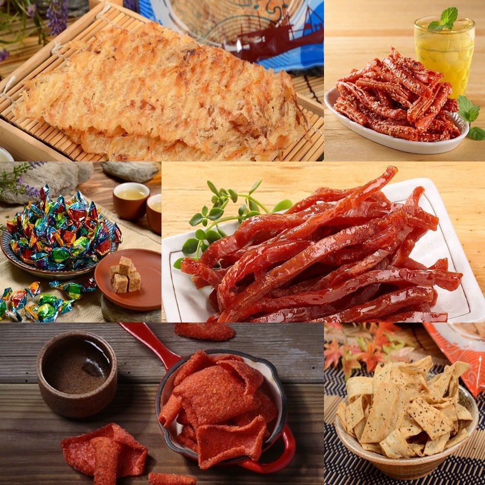 【華得水產】慶讚中元海味肉乾超值6件組