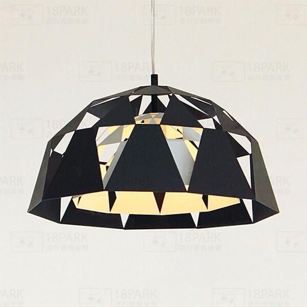 18park-向量設計吊燈 [黑色,全電壓]