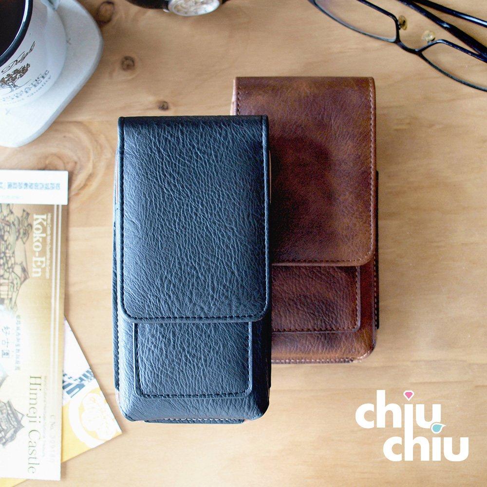 【CHIUCHIU】SAMSUNG Galaxy A30s (6.4吋)復古質感犀牛紋雙卡層可夾式保護皮套