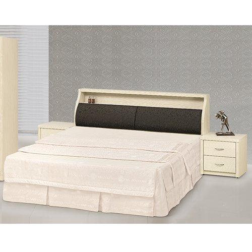 【時尚屋】[5U7]白雪松6尺床箱型雙人床5U7-20-21+62608不含床頭櫃-床墊/免運費