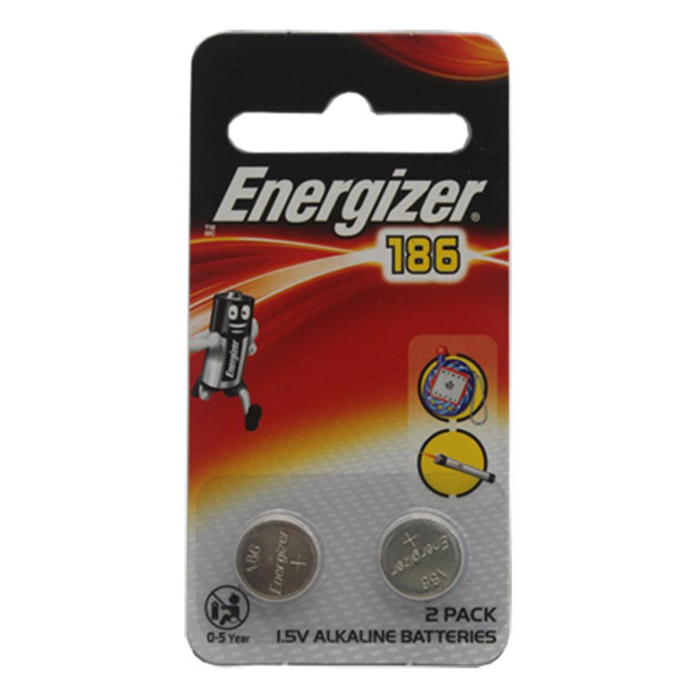 Energizer勁量 186_LR43 鈕扣 鹼性電池 24入