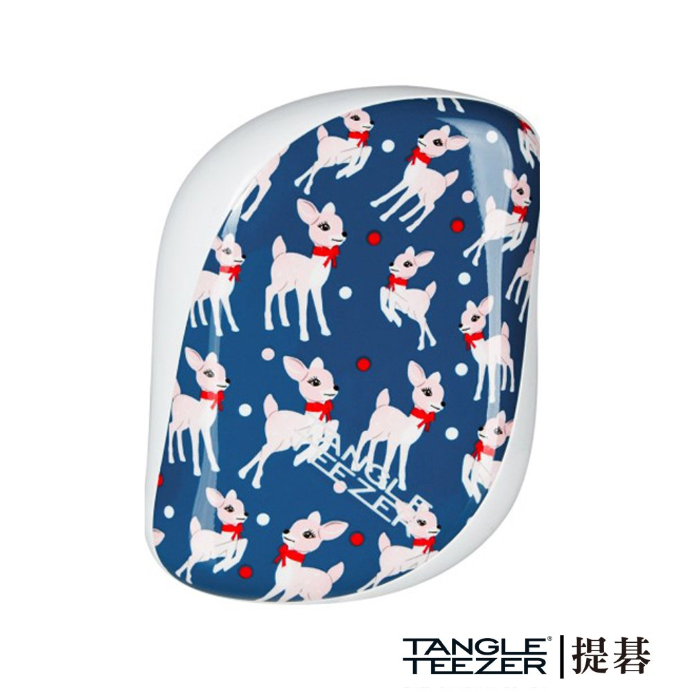 【TANGLE TEEZER提碁】利物浦攜帶梳-藍色小鹿