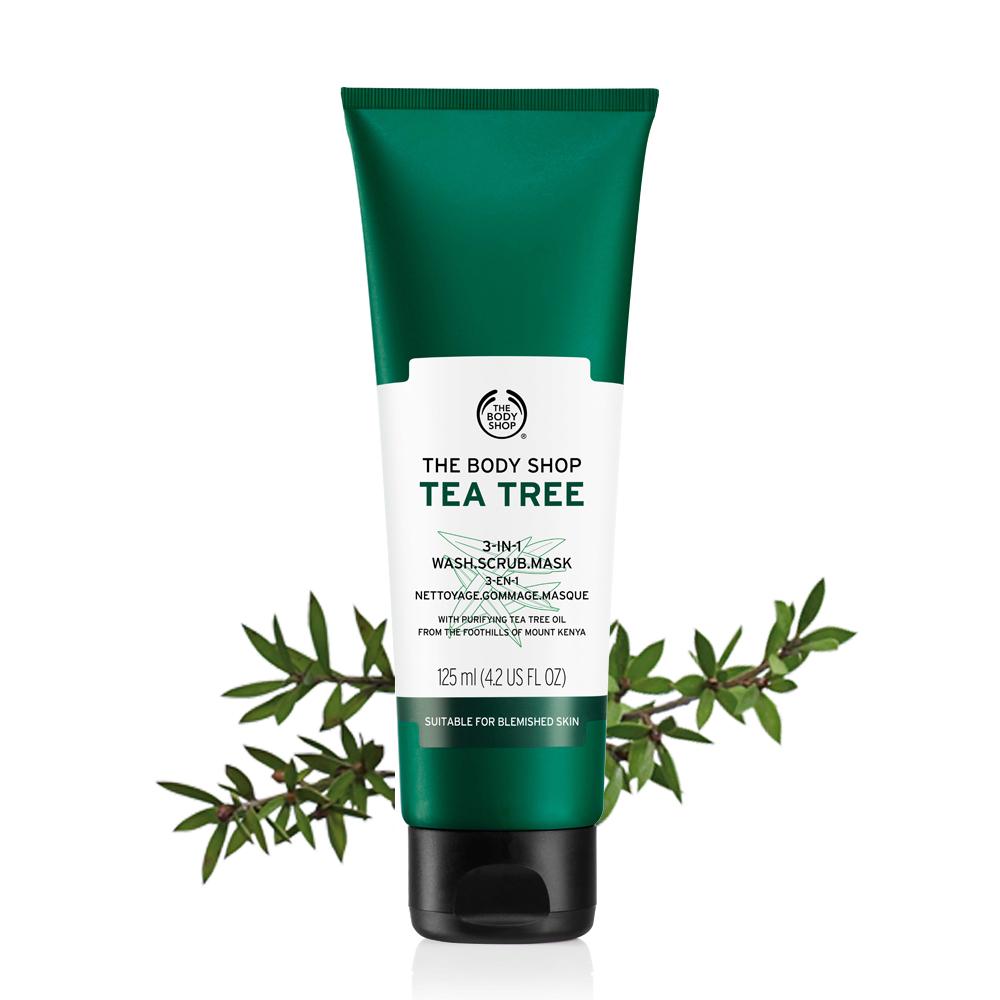 茶樹3效淨膚-磨砂-面膜-125ML