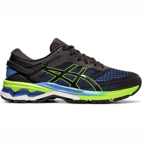 Asics GEL-KAYANO 26 [1011A536-003] 男鞋 運動 慢跑 健走 休閒 緩震 輕量 黑藍