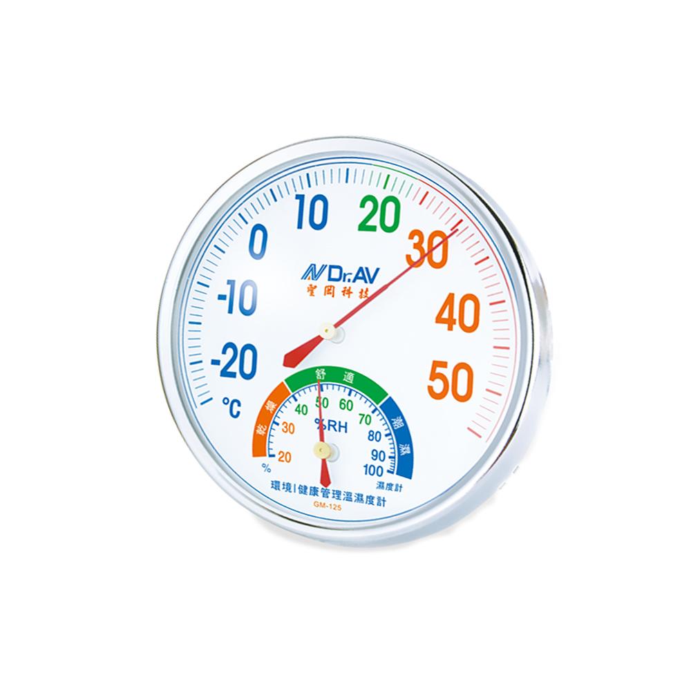 環境/健康管理溫濕度計(GM-125)【2入/組】
