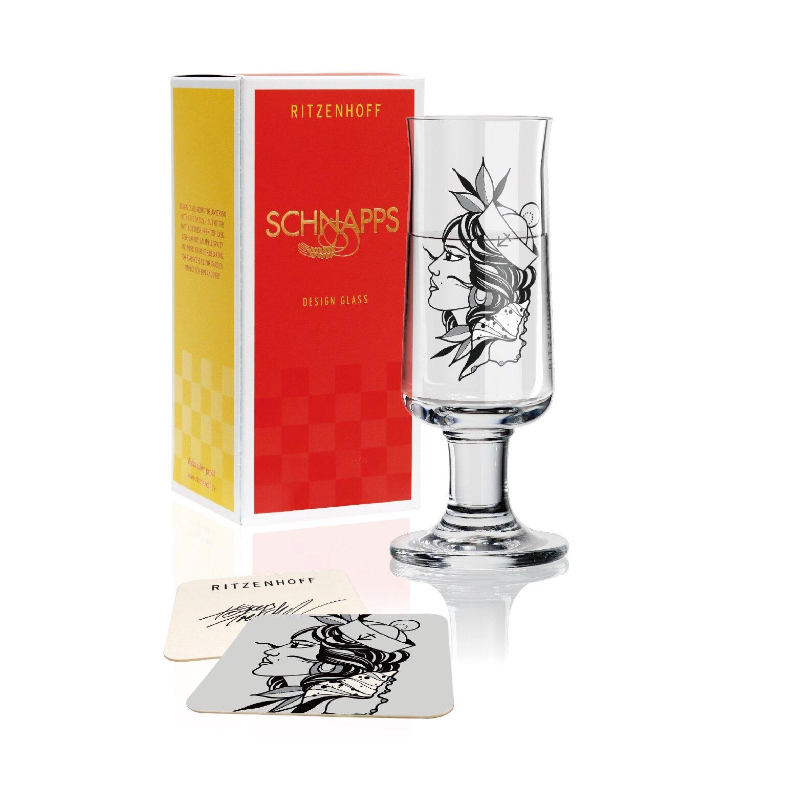 德國 RITZENHOFF 新式烈酒杯 -水手女孩_小巧精緻,適合各類烈酒,包裝精美,送禮自用兩相宜~