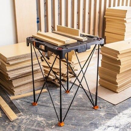工作台 威克士便攜式工作台WX066 多功慧摺疊木工工具台鋸台家用五金工具LX 歐亞時尚 全館限時8.5折特惠!