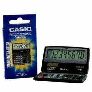 【CASIO】攜帶型計算機(8位數) SL-100L