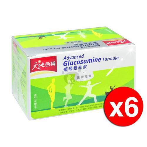 桂格 天地合補 葡萄糖胺飲 60ml*6罐/盒 (6盒)