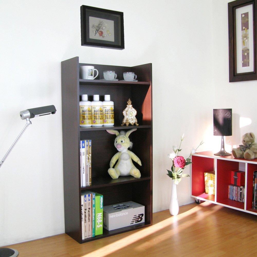 寬60公分[4層美背式]收納櫃/置物櫃/書櫃(二色可選)