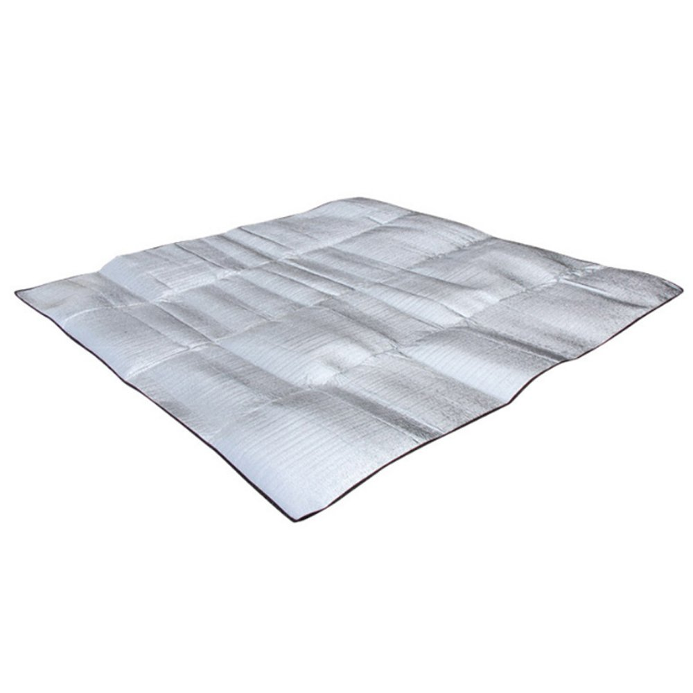 PUSH!戶外用品可充當保溫毯的防潮墊野餐墊防水地墊地布地席(加大版)P114