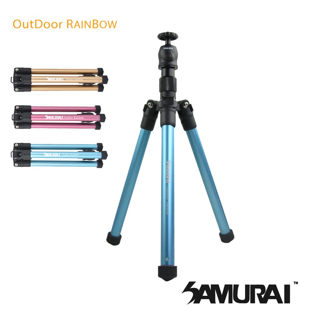SAMURAI Outdoor Rainbow 反折旅遊型腳架
