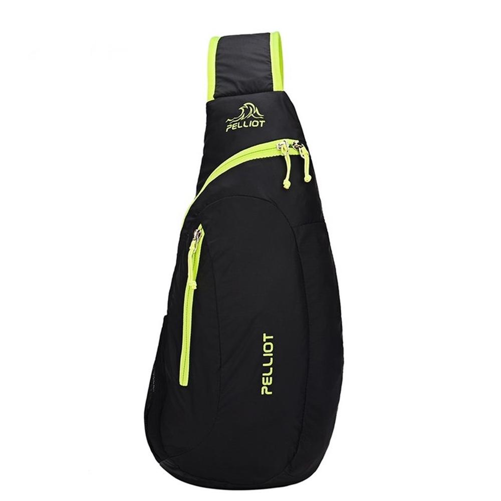 法國Pelliot防潑水背包斜跨包(七公升)輕便包運動包運動三角包單肩背包斜肩包登山包斜揹包