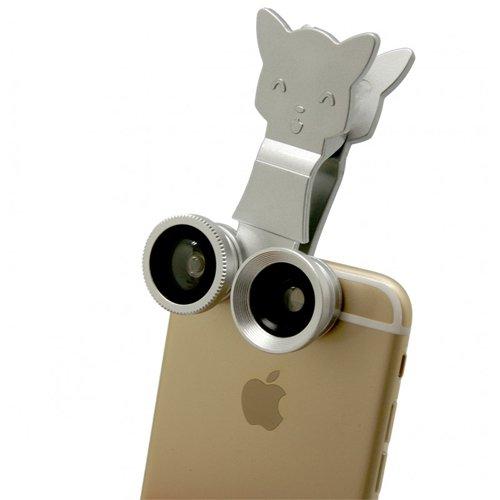 Catlens 貓型 三合一造型鏡頭夾