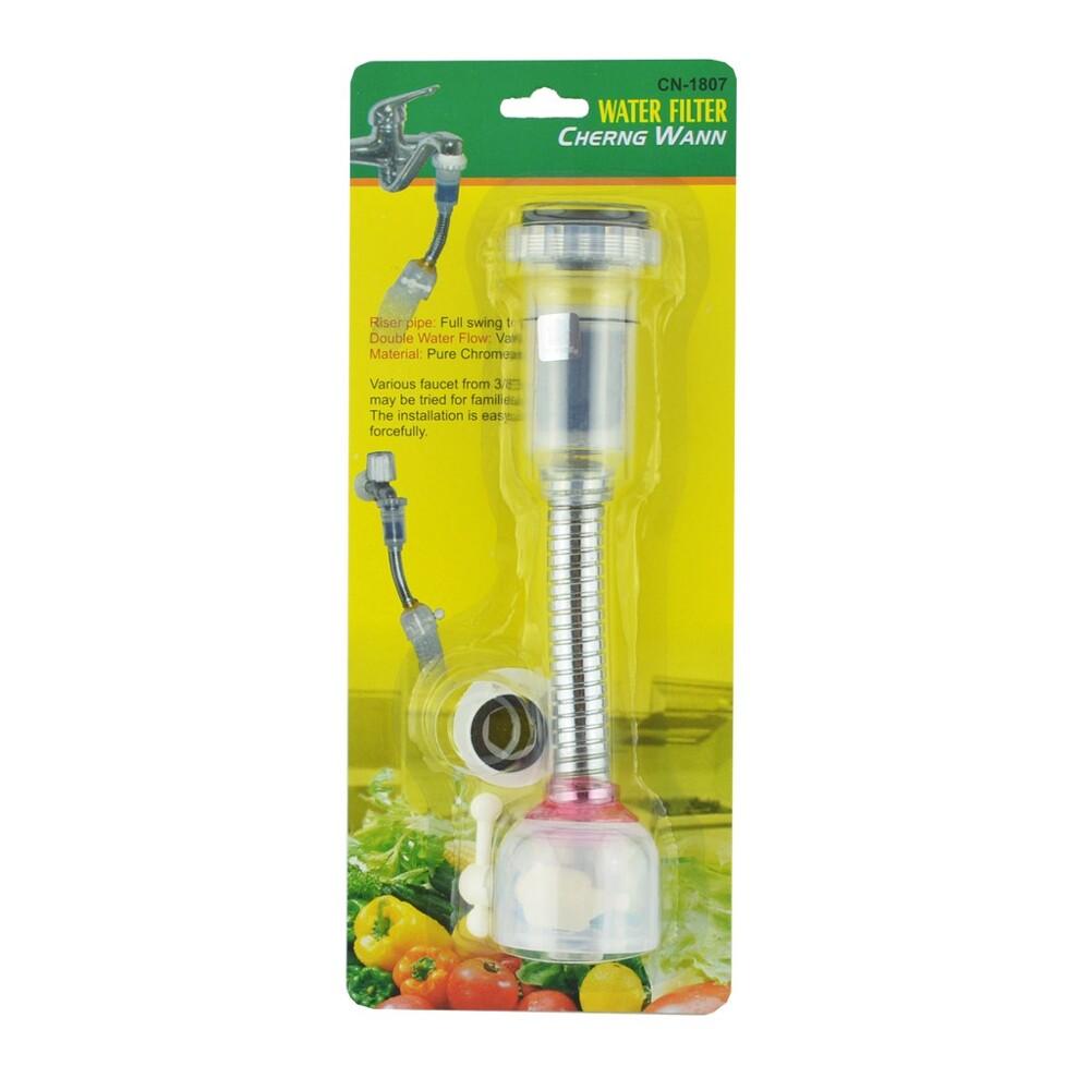 加長型活性碳濾水頭/導水管 19cm 台灣製