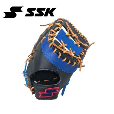SSK  一壘手手套   黑/寶藍    DWG31F-9063