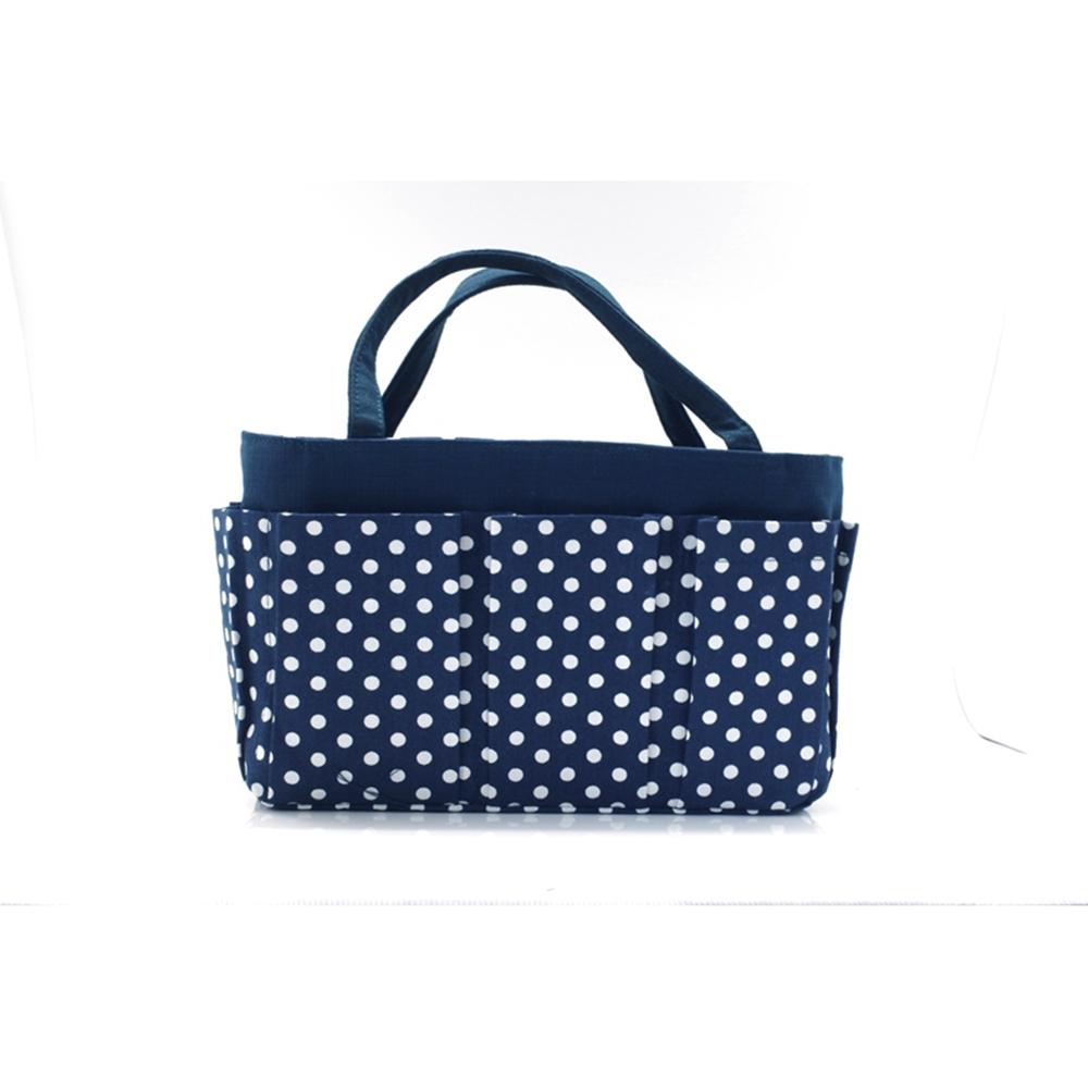 台灣製造POPOMAMA婆婆媽媽袋中袋包中包(中,有提帶且可再分隔)聰明收納袋健身房包溫泉包