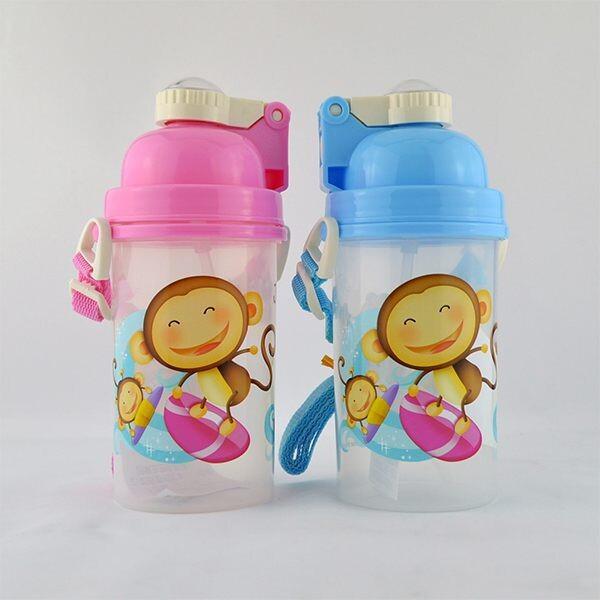 跳跳猴qq水壺 mj-038 _500ml 兒童水壺