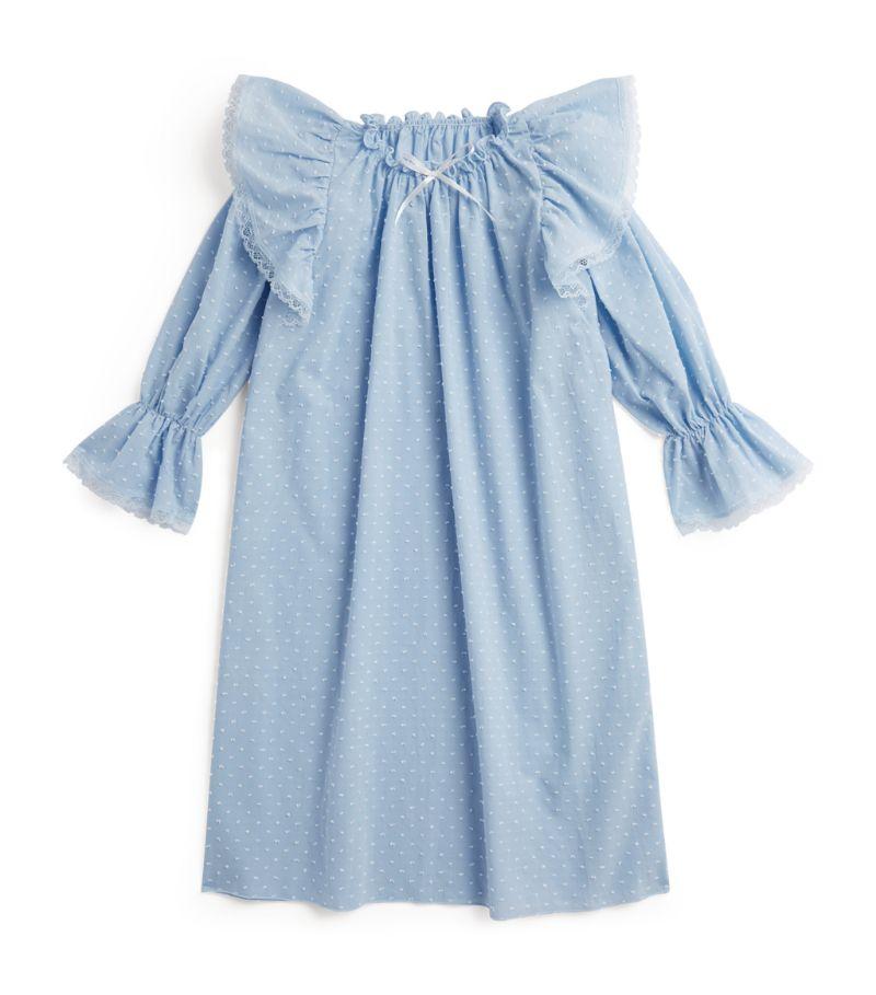 Amiki Lydia Ruffle-Trim Nightdress (2-12 Years)