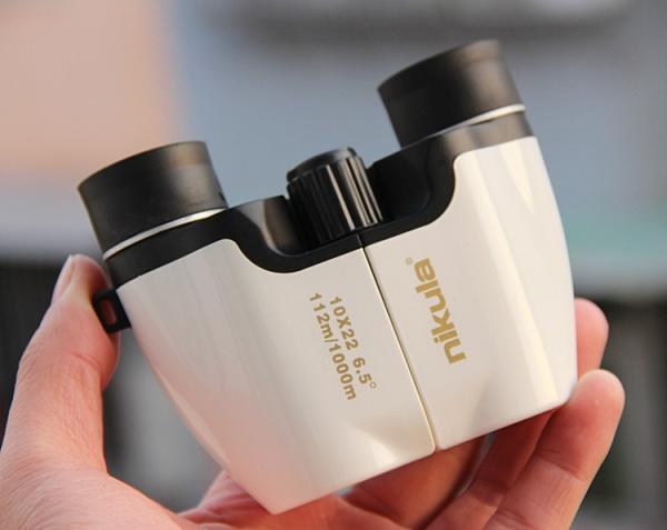 微光可視 雙筒望遠鏡10X22便攜全光學高倍高清 【快速出貨】