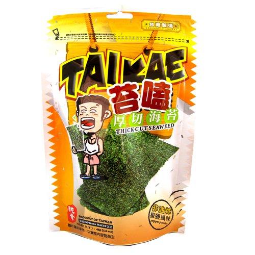 (任選)苔嗑-厚切海苔(椒鹽風味)30g*3包