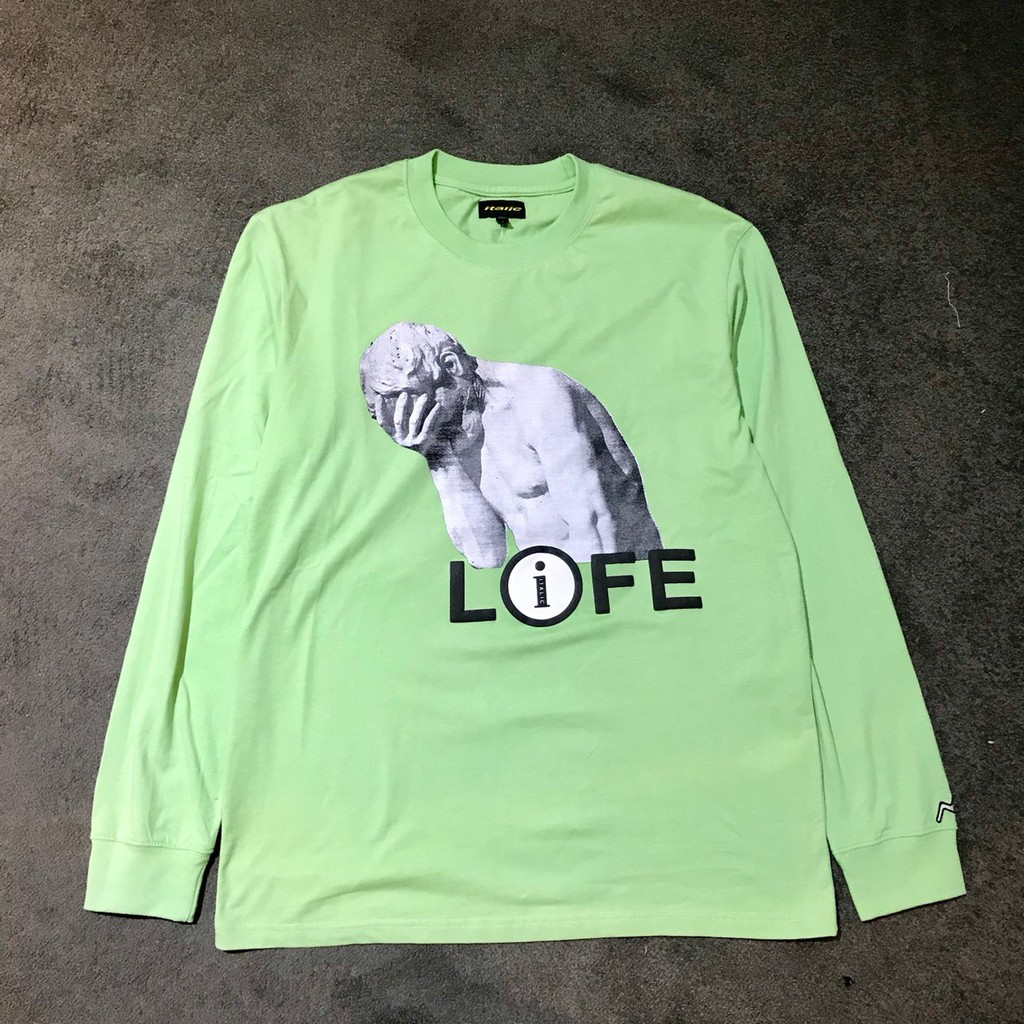 ITALIC VISION LIFE LONG TEE GREEN【 GIANT MALL 】