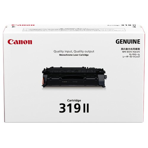 Canon CRG-319 II 原廠碳粉 適用 LBP6300dn/6650dn/6300/6650/6300N/6650N