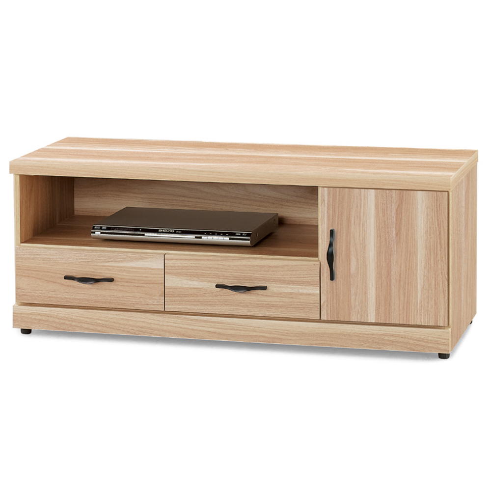 Boden-巴特萊3.8尺電視櫃/長櫃(兩色可選)
