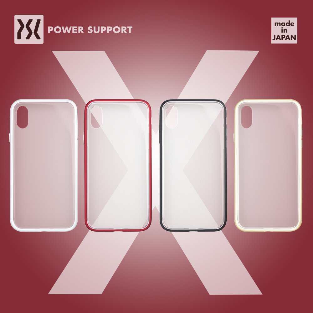 POWER SUPPORT iPhone X Air Jacket 防震保護殼