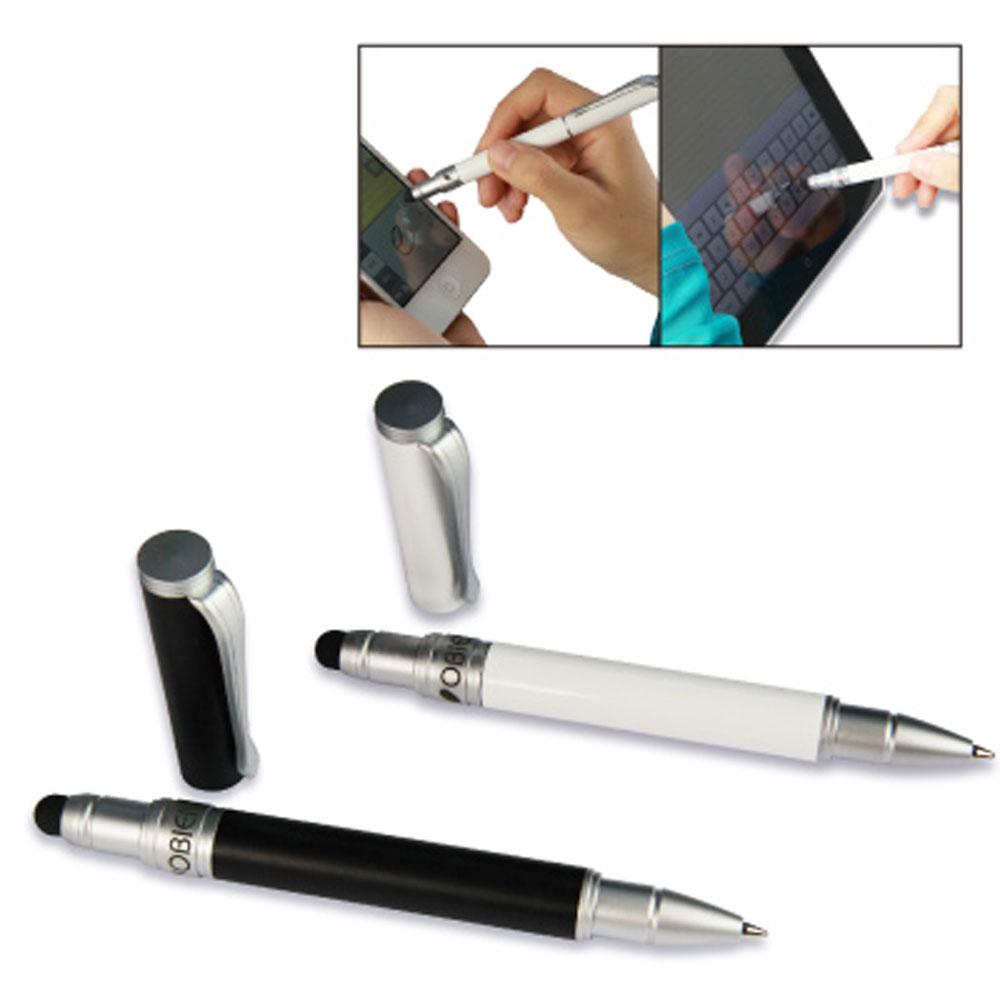 OBIEN 高感度二用觸控筆-可替換觸控筆頭及筆芯型 - 黑白兩色可選