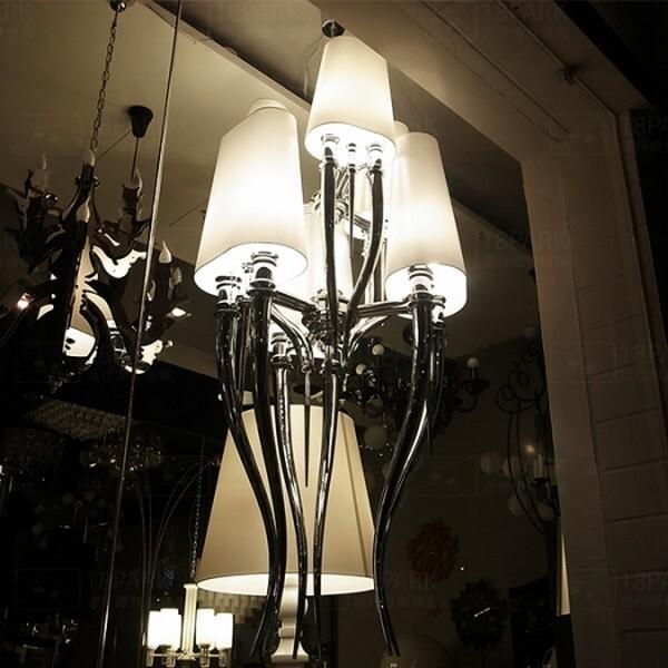 18park-聖戰士吊燈 [金屬/布罩,全電壓]
