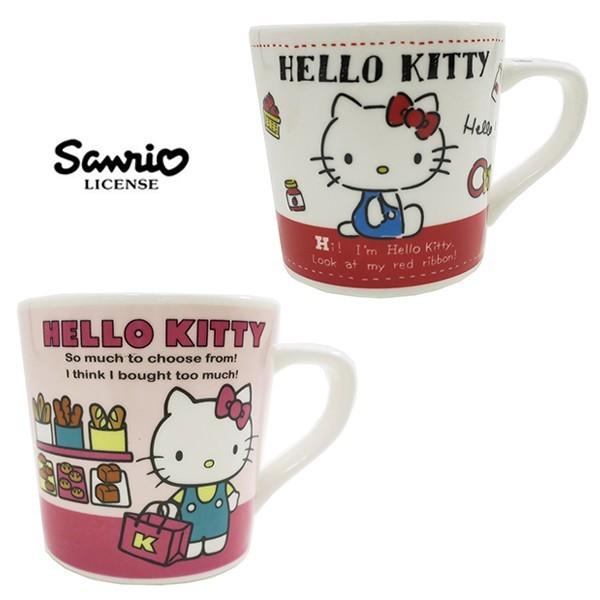 凱蒂貓 粉色款 陶瓷 馬克杯 200ml 咖啡杯 hello kitty 三麗鷗 443559