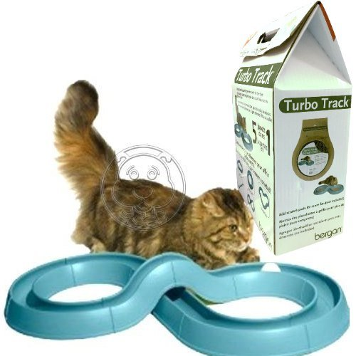 Bergan》貓咪玩具系列渦輪軌道貓玩具
