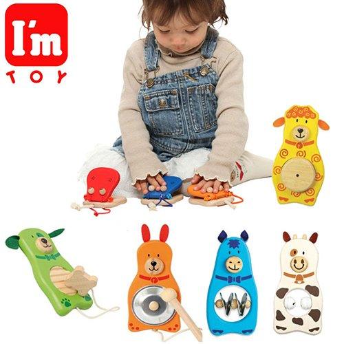 泰國【I'm toy】木製樂器任選3件組