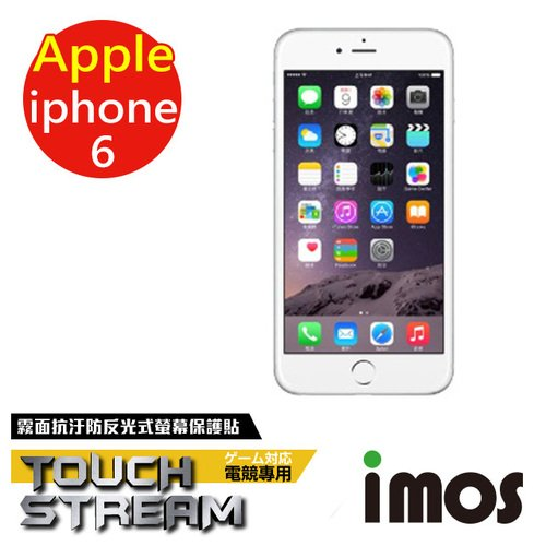 iMOS 蘋果 Apple iPhone 6 Touch Stream 電競 霧面 螢幕保護貼