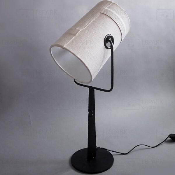 18park-安德森檯燈 [金屬/布罩,白色]