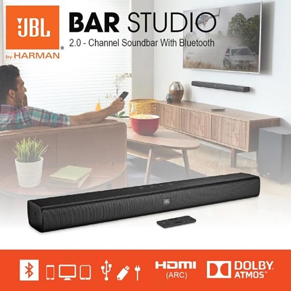 平廣 JBL BAR STUDIO 藍芽喇叭 2.0聲道 聲霸 公司貨保一年 可HDMI 光纖 3.5mm輸入