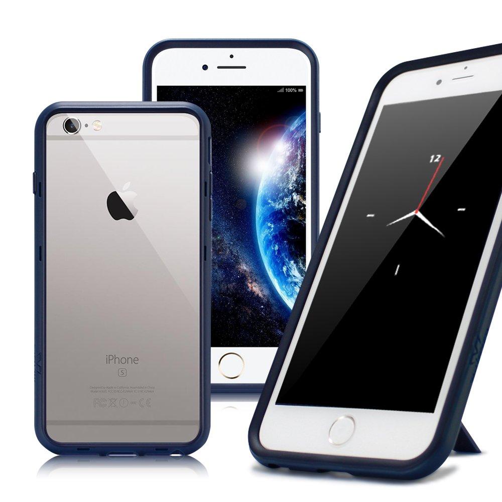 Thunder X  iPhone SE 2020 / SE2 / iPhone 8 / iPhone 7 / 6s 防摔邊框手機殼-藍