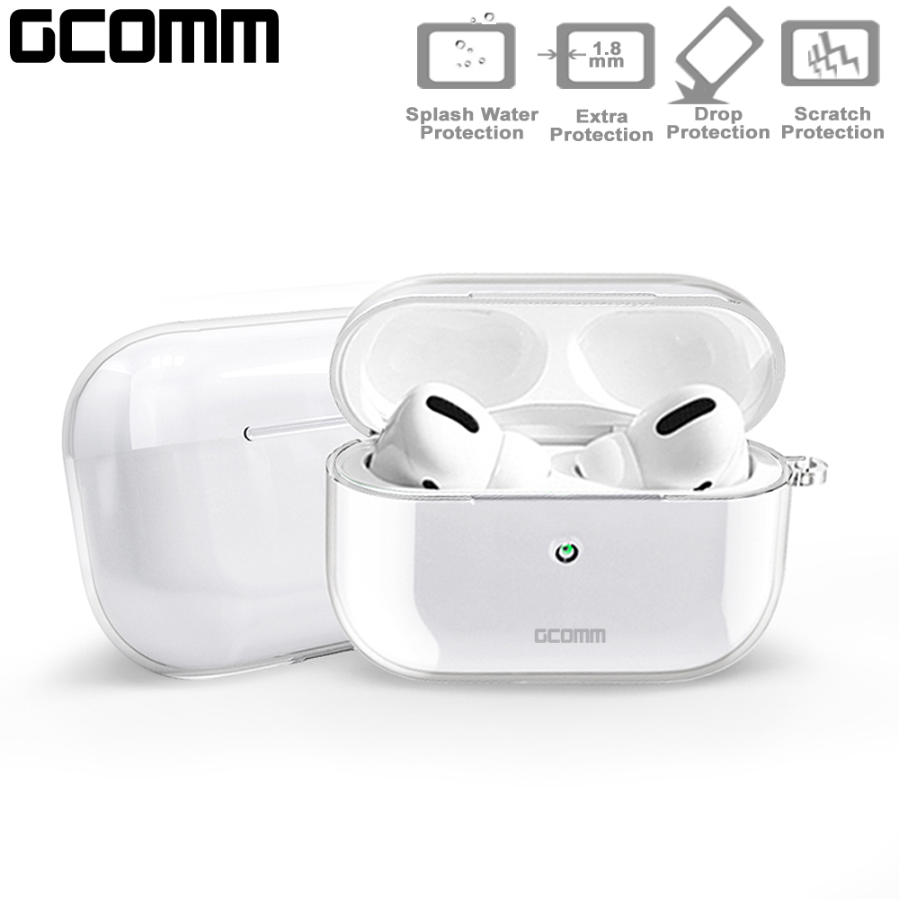 GCOMM AirPods Pro 全透明保護套 Crystal