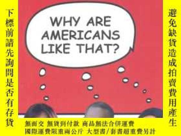 二手書博民逛書店美國諺語和文化指南罕見why are americans lik