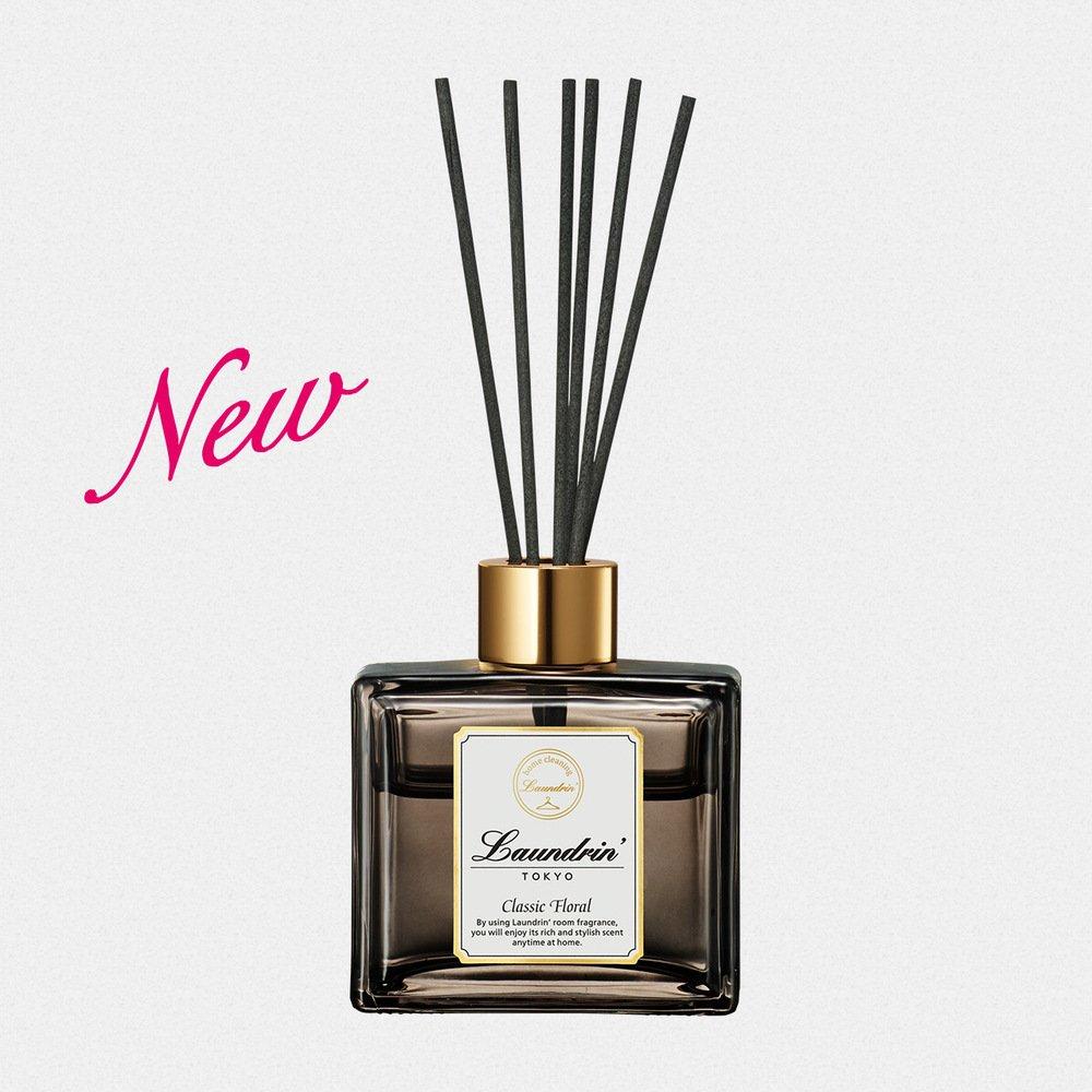 日本Laundrin'香水系列擴香*1+補充包*1- 經典花香80ml