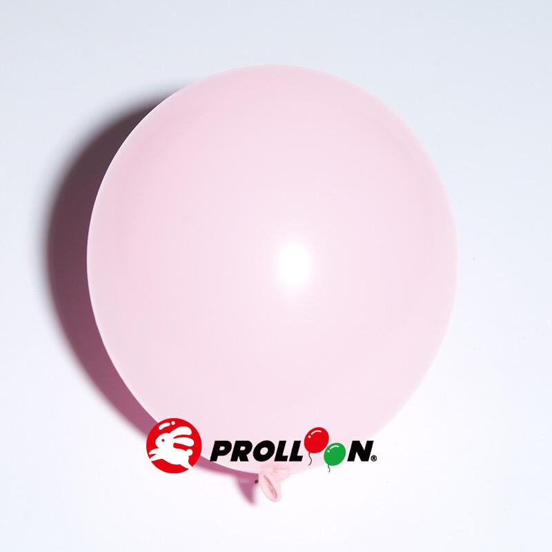 大倫氣球11吋馬卡龍色系 圓形氣球 100顆裝  淡粉色 台灣製造 安全無毒