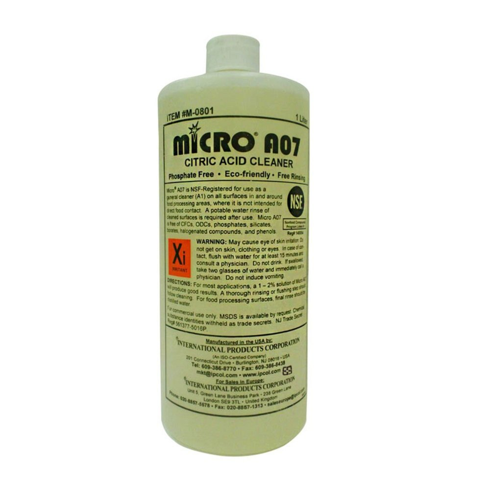 MICRO-A07 環保檸檬酸液態清潔劑