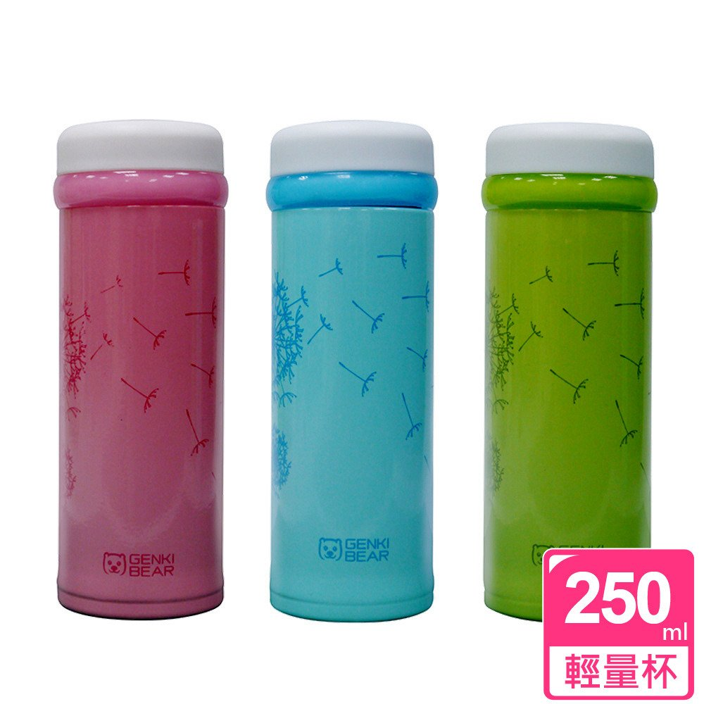 【犀利師】Genki Bear微風超輕量保溫保冷杯250ml
