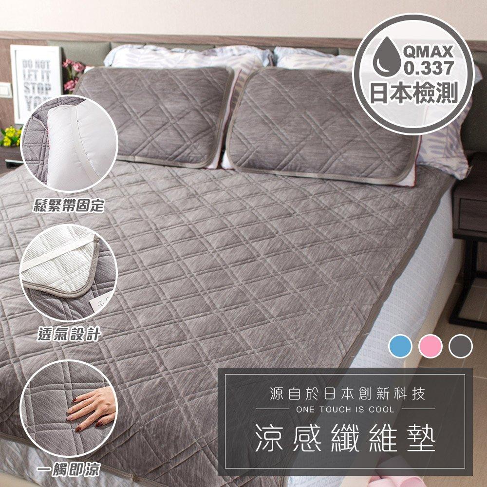 樂嫚妮 涼感纖維墊-單人床墊(無枕墊)