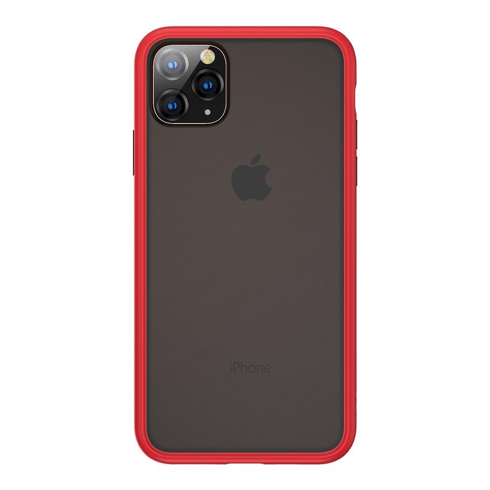 Benks  iPhone11 Pro Max (6.5吋)防摔膚感手機殼-胭紅