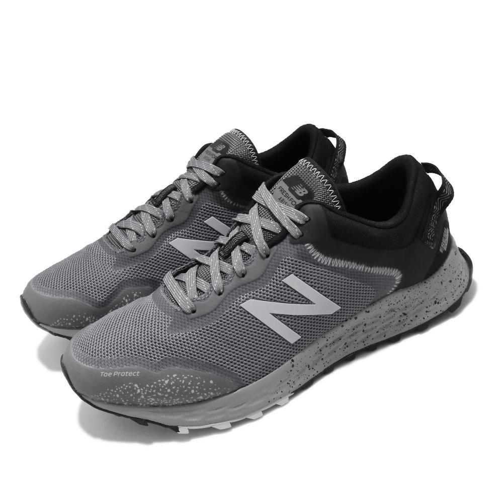 NEW BALANCE 慢跑鞋 Fresh Foam Arishi 寬楦男鞋 紐巴倫 輕量 透氣 舒適 避震 路跑 灰 黑 [MTARISC14E]