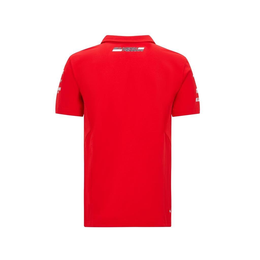 法拉利RP車隊POLO衫 紅款(S~XXL)